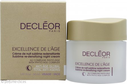 Decleor Excellence de l'Age Crema Redensificante Noche Sublime 50ml