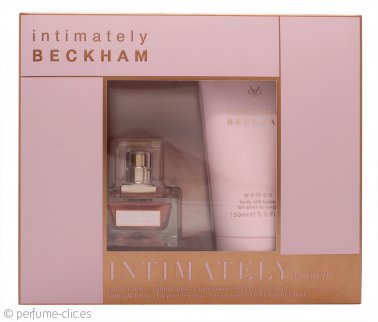 David & Victoria Beckham Intimately Set de Regalo 30ml EDT + 150ml Loción Corporal