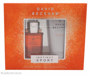 David Beckham Instinct Sport Set de Regalo 30ml EDT + 200ml Gel de Pelo y Cuerpo