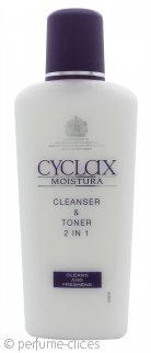 Cyclax Moistura Limpiador y Tonificante 2 en 1 200ml