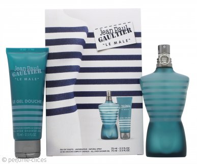 Jean Paul Gaultier Le Male Set de Regalo 75ml EDT + 75ml Gel de Ducha