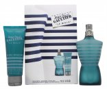 Jean Paul Gaultier Le Male Set de Regalo 125ml EDT + 75ml Gel de Ducha + 75ml Bálsamo Aftershave