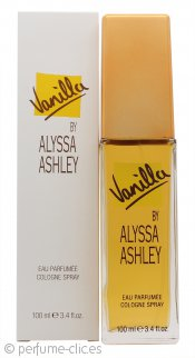 Alyssa Ashley Vanilla Eau de Cologne 100ml Vaporizador