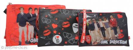 One Direction Bolsas Cosméticos 3 Piezas
