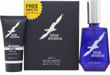 Parfums Bleu Limited Blue Stratos Set de Regalo 50ml EDT + 25ml Gel de Afeitado