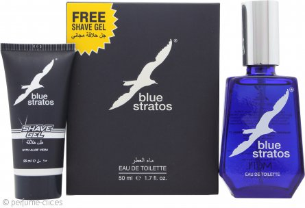 Parfums Bleu Limited Blue Stratos Set de Regalo 50ml EDT + 25ml Gel de Afeitado