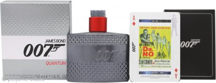 James Bond 007 Quantum Set de Regalo 50ml EDT + Naipes