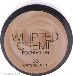 Max Factor Whipped Base Crema 18ml - Crystal Beige 33
