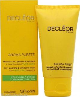 Decleor Aroma Purete Máscara 2 en 1 Oxigenadora y Purificante 50ml-  Piel Mixta/Grasa