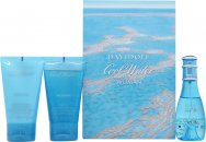 Davidoff Cool Water Woman Set de Regalo 30ml EDT + 50ml Gel de Ducha + 50ml Loción Corporal