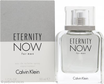 Calvin Klein Eternity Now For Men Eau de Toilette 50ml Vaporizador