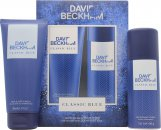 David Beckham Classic Blue Set de Regalo 150ml Vaporizador Corporal + 200ml Gel de Ducha