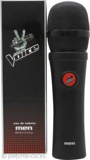 The Voice Men Eau de Toilette 100ml Vaporizador