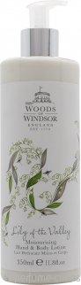 Woods of Windsor Lily of the Valley Loción de Cuerpo y Manos 350ml