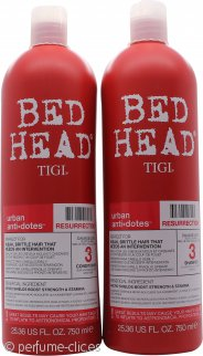 Tigi Duo Pack Bed Head Urban Antidotes Champú Resurrección 750ml + 750ml Acondicionador