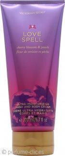 Victoria's Secret Love Spell Crema de Manos y Cuerpo 200ml
