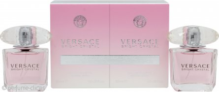 Versace Bright Crystal Set de Regalo 2 x 30ml EDT Vaporizador