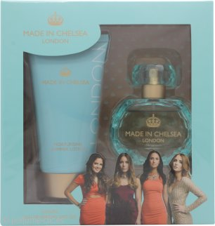 Made in Chelsea Set de Regalo 50ml EDP + 150ml Loción con Brillo