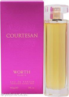 Worth Courtesan Eau de Parfum 90ml Vaporizador