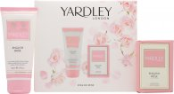 Yardley English Rose Set de regalo 50ml EDT + 75ml Vaporizador Corporal