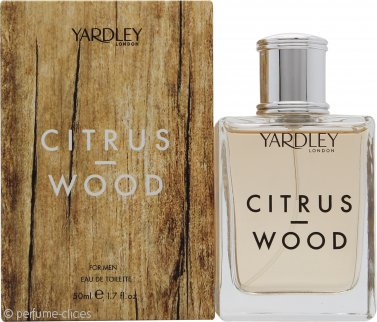 Yardley Citrus & Wood Eau de Toilette 50ml Vaporizador