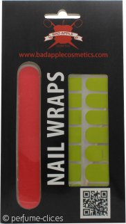 Bad Apple Nail Wraps Set de Regalo 16 Fundas de Uñas + Lima de Uñas - Lady In Green