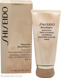 Shiseido Benefiance Revitalizador Protector de Manos FPS 8 75ml