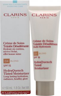 Clarins HydraQuench Hidratante con color 50ml - 04 Blond