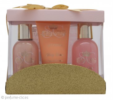 Style & Grace Utopia Set de Regalo Mini Cuidados 100ml Crema de Baño + 100ml Gel Corporal + 70ml Loción Corporal