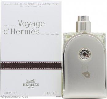 Hermes Voyage d'Hermes Eau de Toilette 100ml Vaporizador - Rellenable