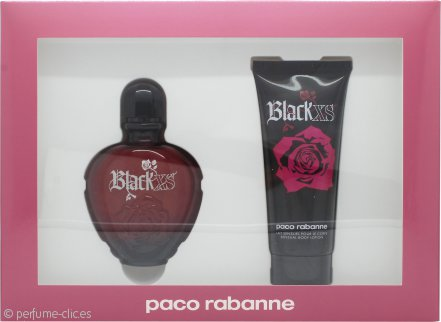 Paco Rabanne Black XS for Her Set de Regalo 80ml Eau de Toilette + 100ml Loción Corporal