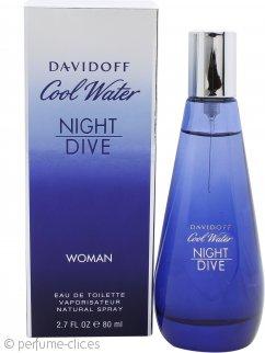 Davidoff Cool Water Night Dive Woman Eau de Toilette 80ml Vaporizador