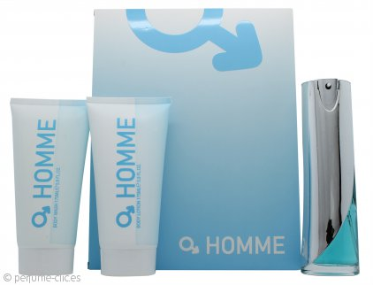 Laurelle Homme Set de Regalo 100ml EDT + 175ml Gel Corporal + 175ml Loción Corporal