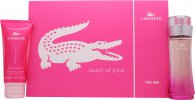 Lacoste Touch of Pink Set de Regalo 50ml EDT + 100ml Loción Corporal