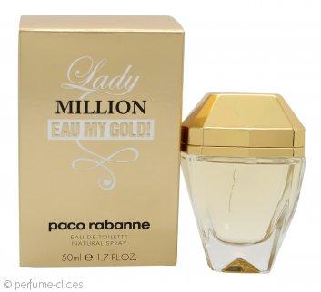 Paco Rabanne Lady Million Eau My Gold! Eau de Toilette 50ml Vaporizador