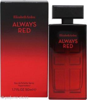Elizabeth Arden Always Red Eau de Toilette 50ml Vaporizador