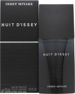 Issey Miyake Nuit d'Issey for Men Eau de Toilette 75ml Vaporizador