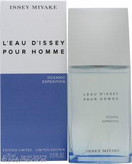 Issey Miyake L'Eau d'Issey pour Homme Oceanic Expedition Eau de Toilette 75ml Splash