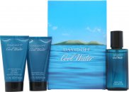 Davidoff Cool Water Set de Regalo 40ml EDT + 50ml Gel de Ducha + 50ml Bálsamo Aftershave