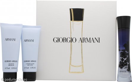 Giorgio Armani Code Set de Regalo 50ml EDP + 75ml Gel de Ducha + 75ml Loción Corporal