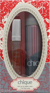 Taylor of London Chique Set de Regalo 12ml EDT Vaporizador + 75ml Vaporizador Corporal
