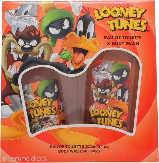 Looney Tunes Set de Regalo 100ml EDT + 240ml Gel Corporal