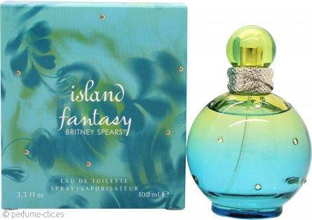 Britney Spears Island Fantasy Eau de Toilette 100ml Vaporizador