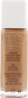 Revlon Nearly Naked Base 30ml Nuez Moscada - SPF20