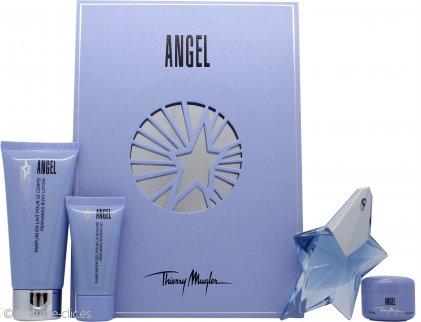 Thierry Mugler Angel Set de Regalo 25ml EDP + 30ml Loción Corporal + 30ml Gel de ducha