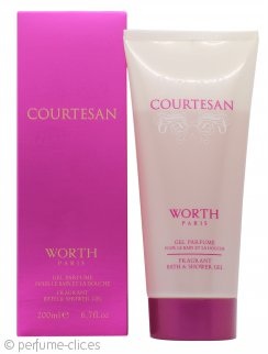 Worth Courtesan Bath & Gel de Ducha 200ml