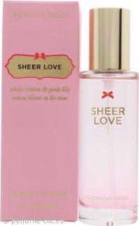 Victorias Secret Sheer Love Eau de Toilette 30ml Vaporizador