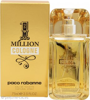 Paco Rabanne 1 Million Cologne Eau de Toilette 75ml Vaporizador