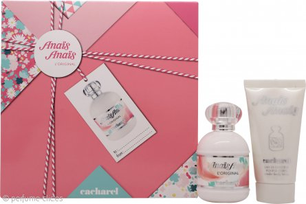 Cacharel Anais Anais L'Original Set de Regalo 50ml EDT + 50ml Loción Corporal