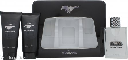 Mustang Set de Regalo 100ml EDT + 150ml Bálsamo Aftershave + 150ml Gel de Ducha